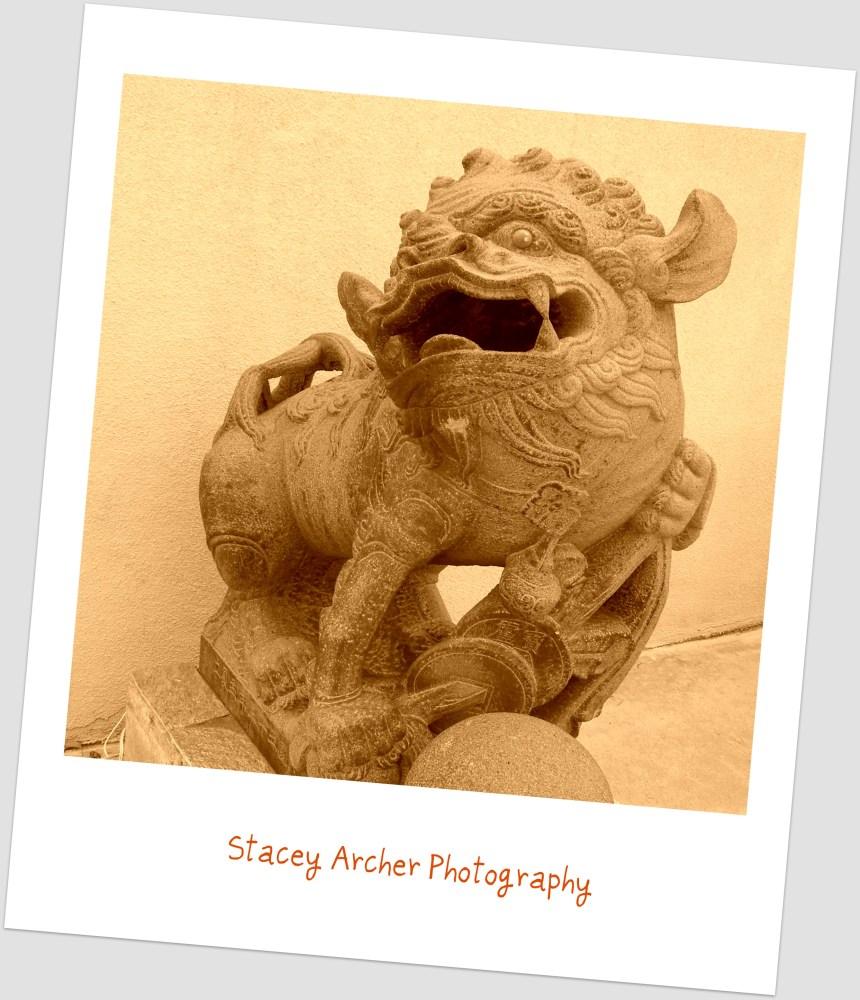 Sepia Statue