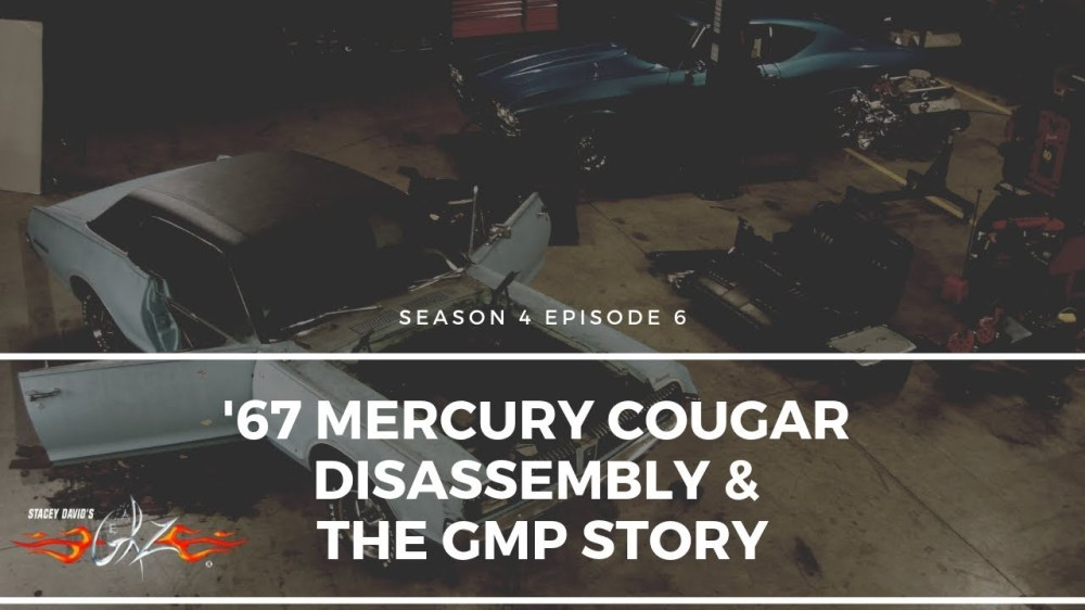 medium resolution of  67 mercury cougar disassembly the gmp story