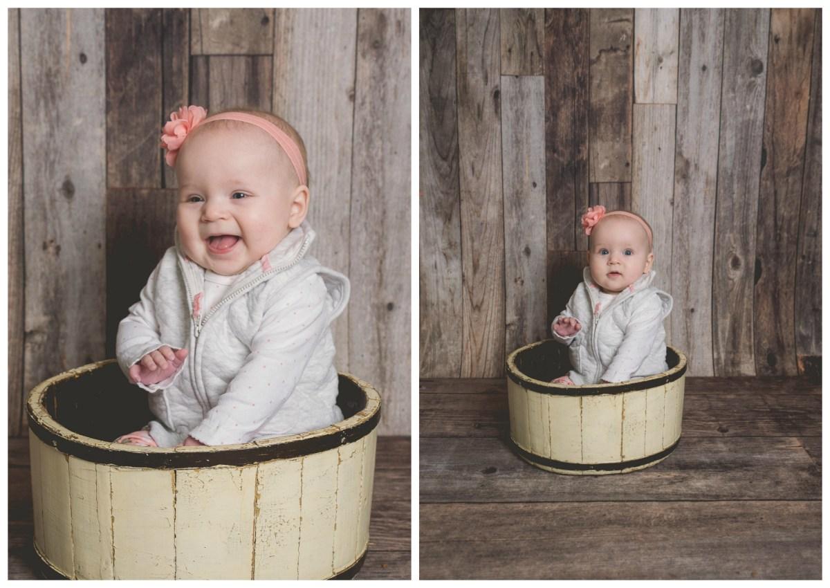 Navyie 6 Months | Utah 6 Months Kids Photographer