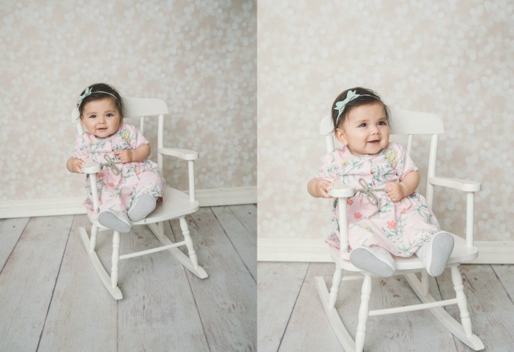 First Year Session 6 Month Girl