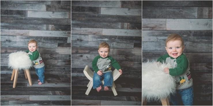 McInerney 9 Month Milestone Logan Utah Photographer