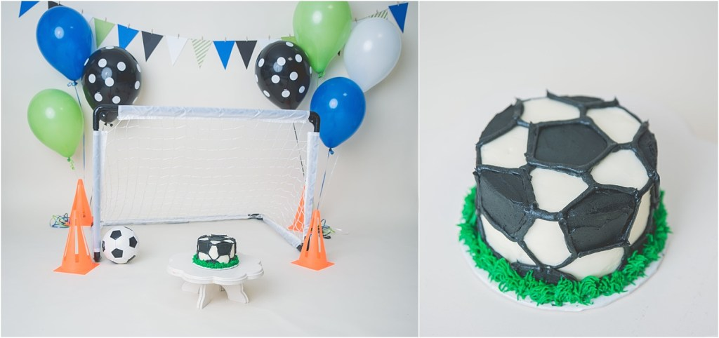 Weston Soccer Cake Smash Logan Utah Photographer