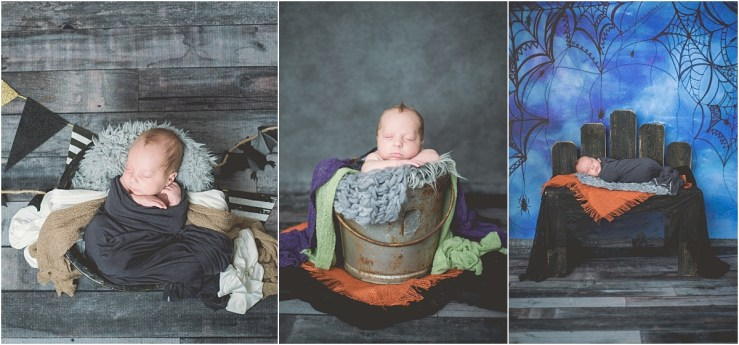 Halloween Newborn Photos Logan Utah Newborn Photographer