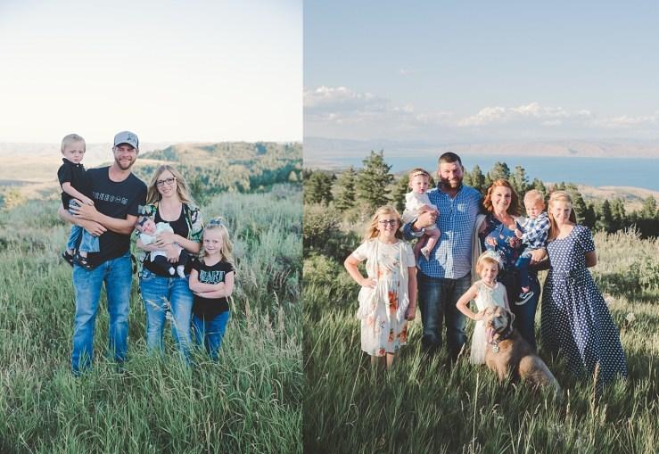 Carlisle Family Bear Lake Utah Family Photographer
