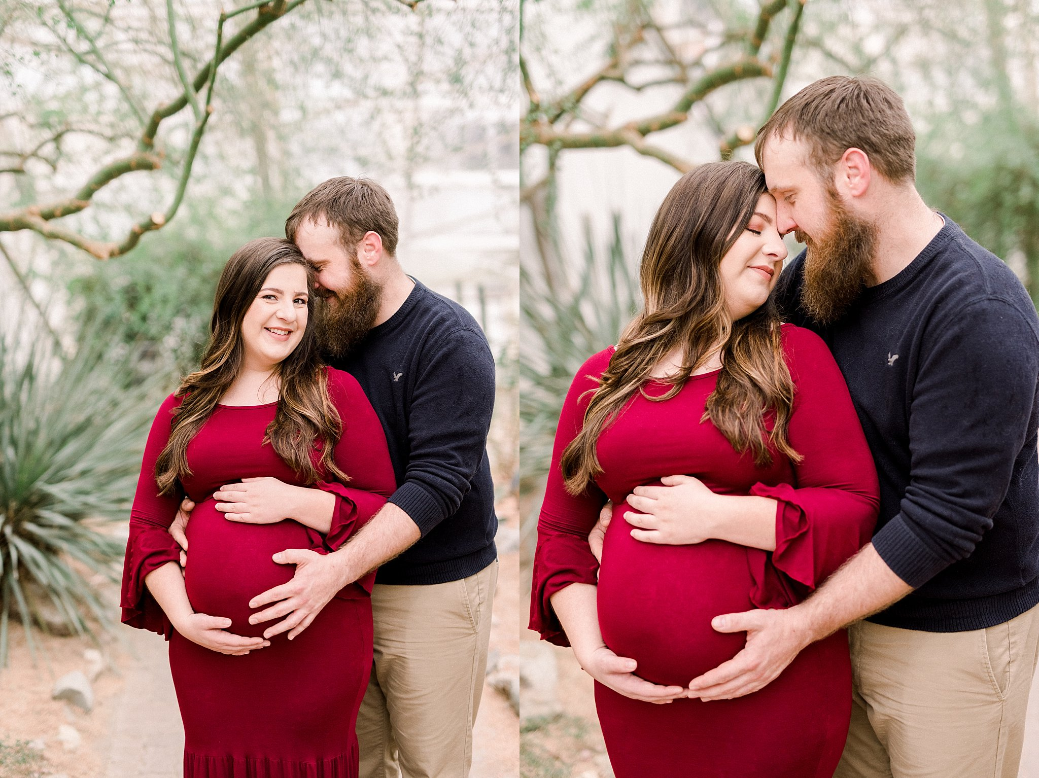 Fort Wayne Botanical Gardens Maternity Session