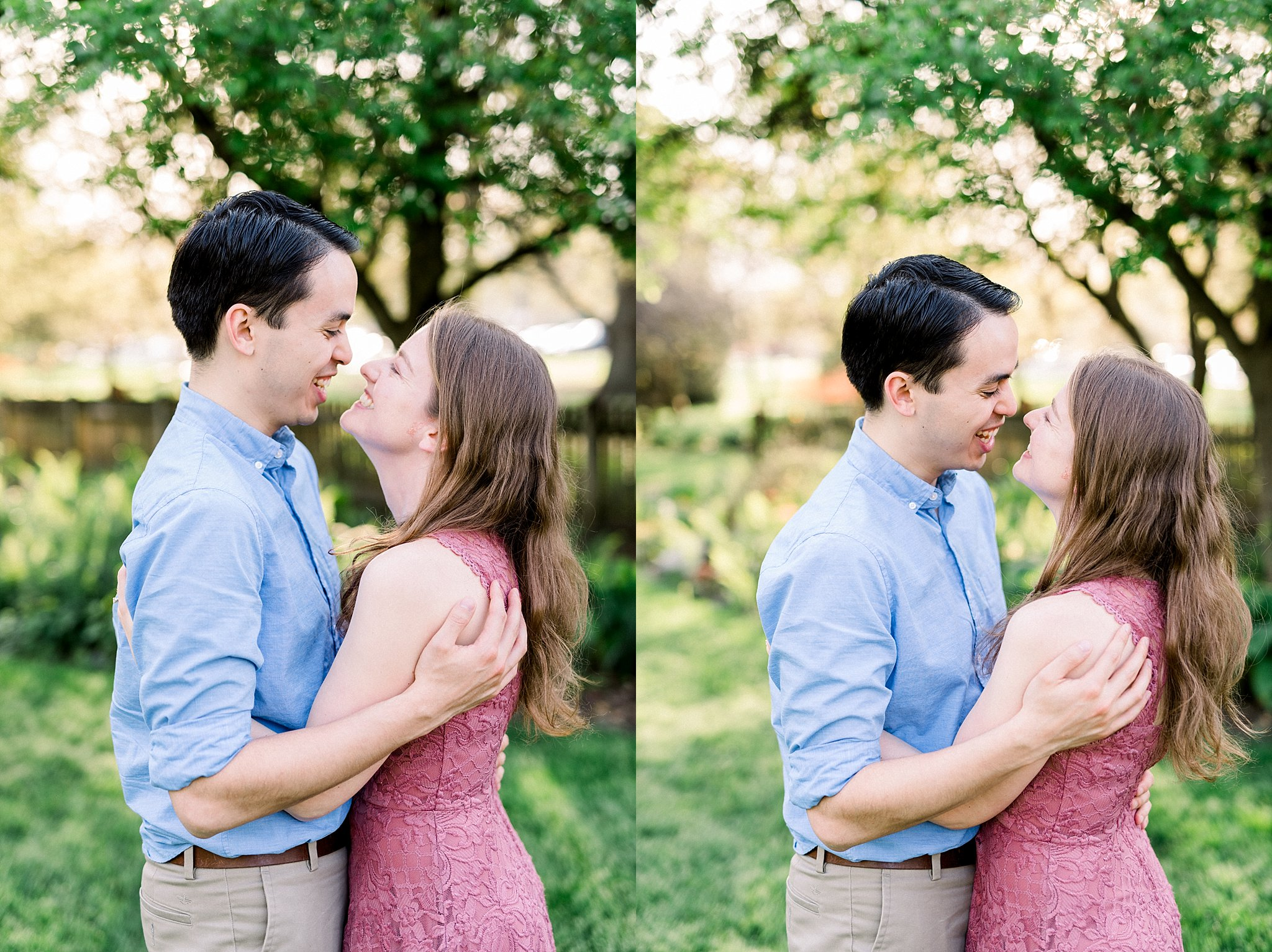 Foster Park Engagement Session
