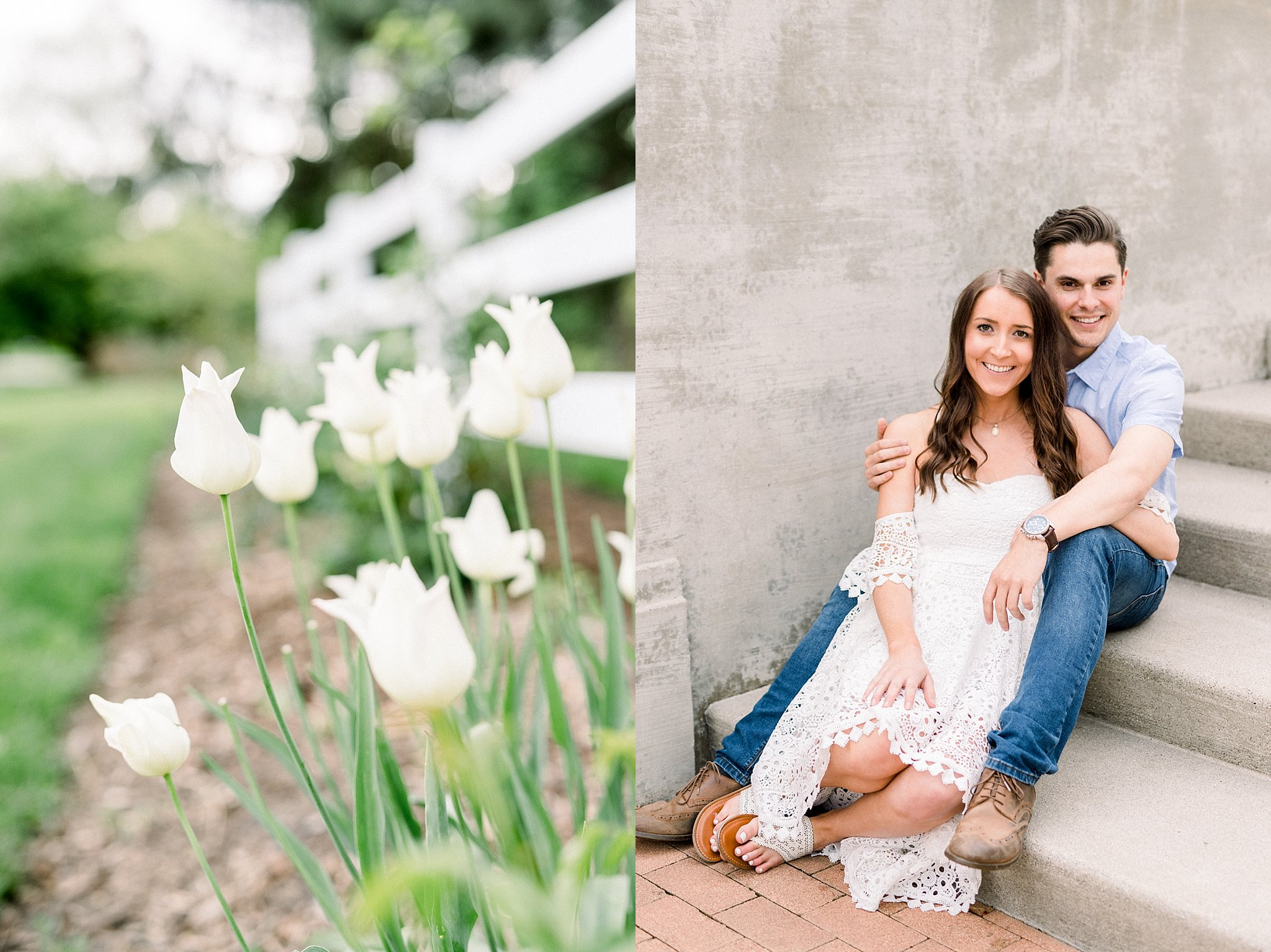 Lakeside Park Engagement Session