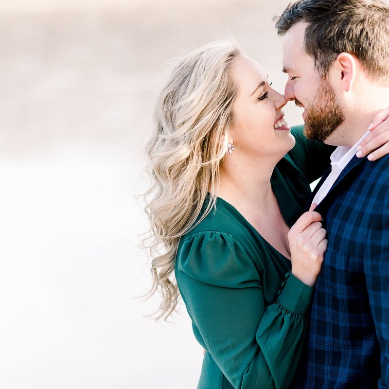 Engagement Session on a lake