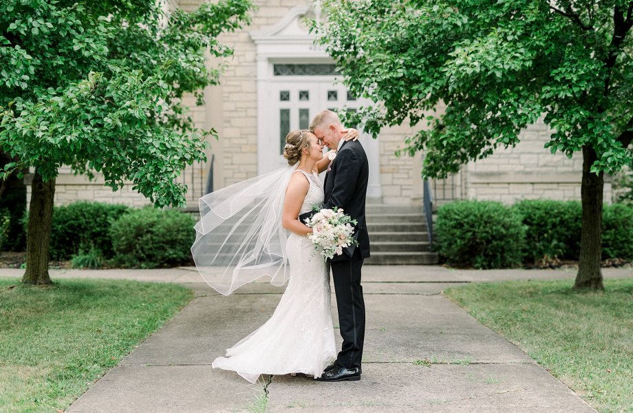 The Lighted Gardens Wedding | Kolbey + Zack