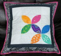 PLayful Petals Pillow