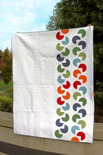 Slice of Happiness Quilt- Modern Quilt Guild