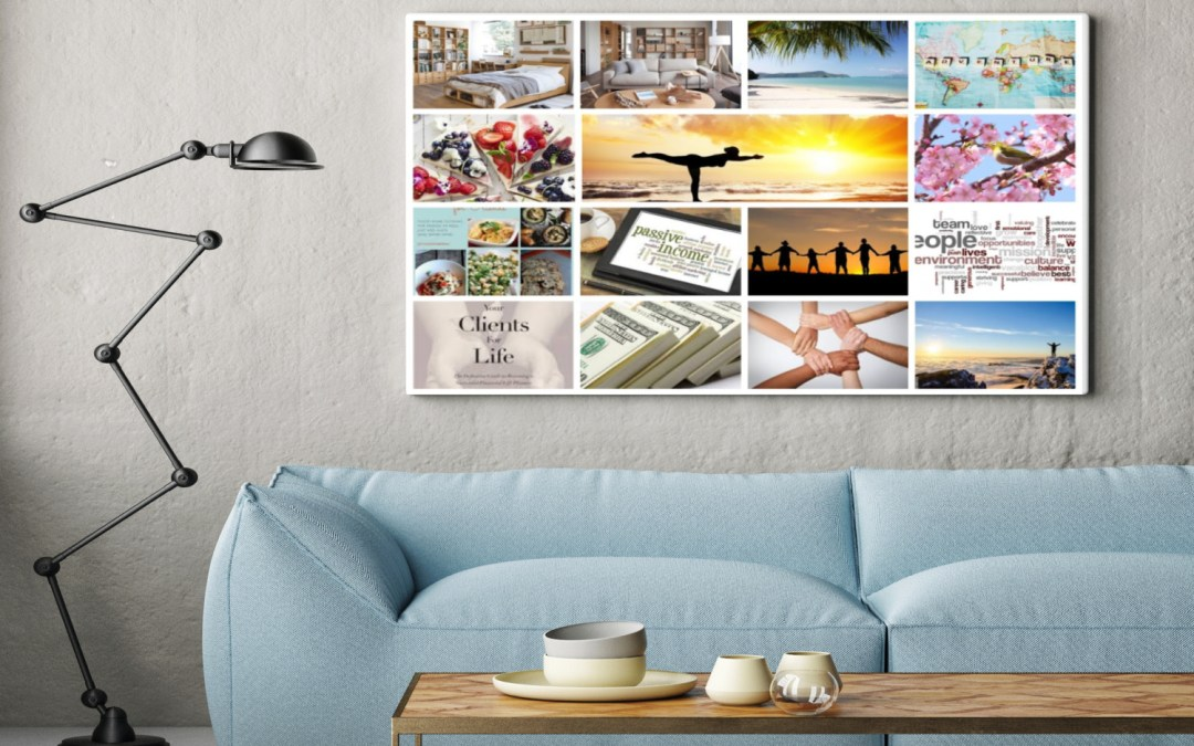 Create a Vision Board and Reach Your Goals