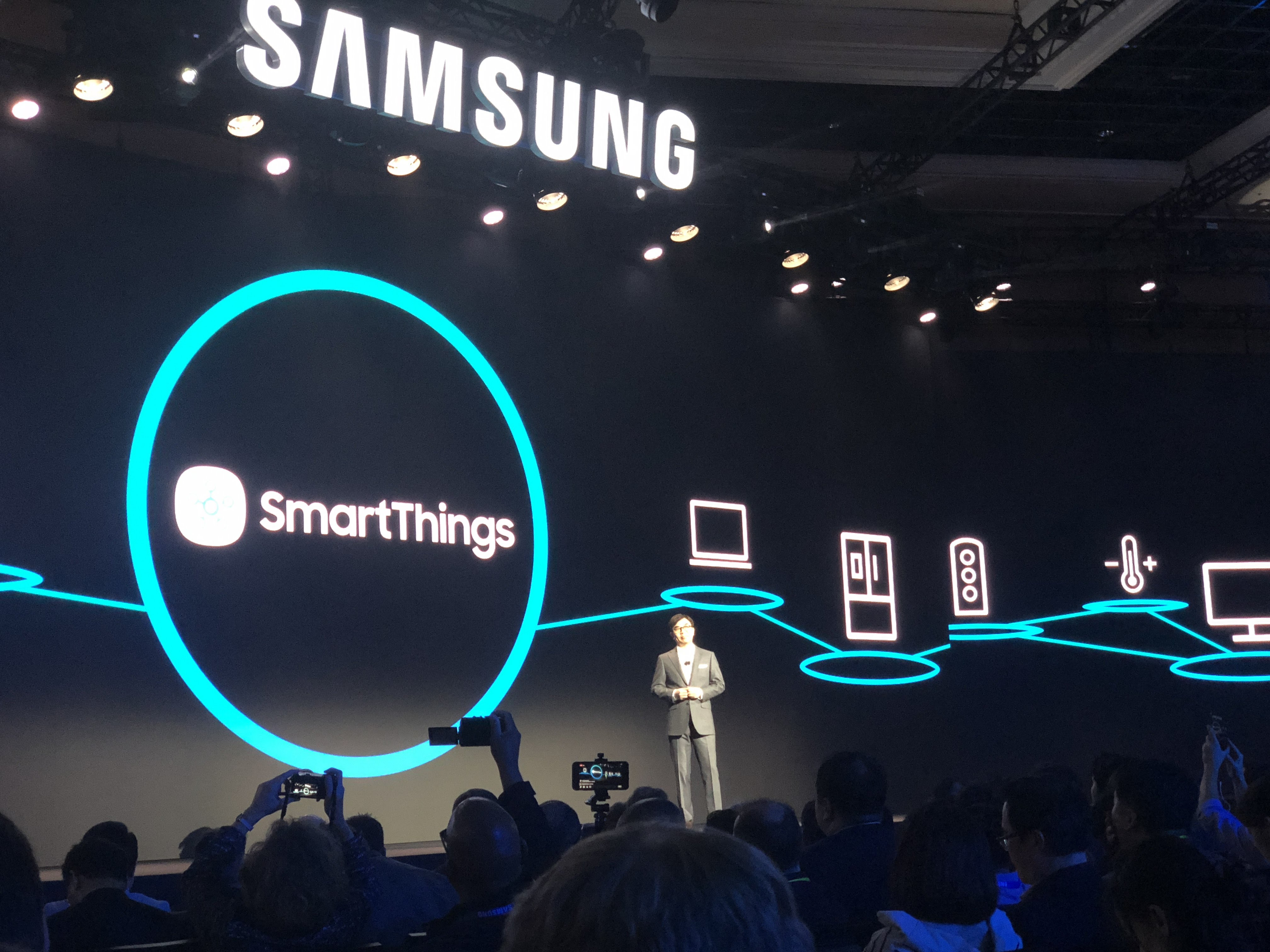 - Samsung SmartThings Bixby CES 2018 - We need a standards-based solution for smart home device and automation backups – Stacey on IoT