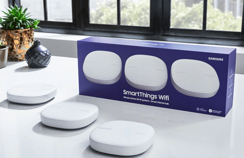Samsung SmartThings Wifi: Easy setup with intelligent, fast mesh networking