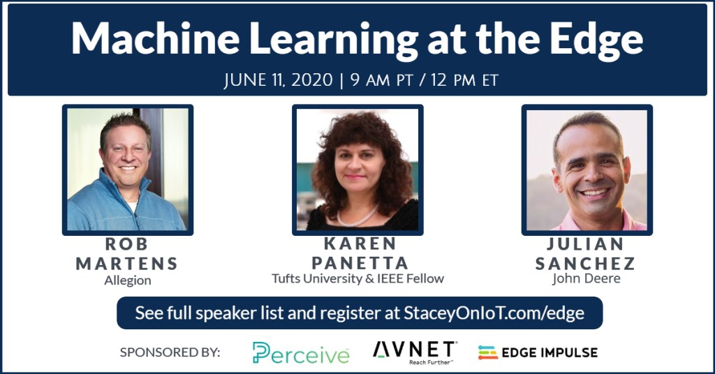Event: How to make machine learning at the edge work