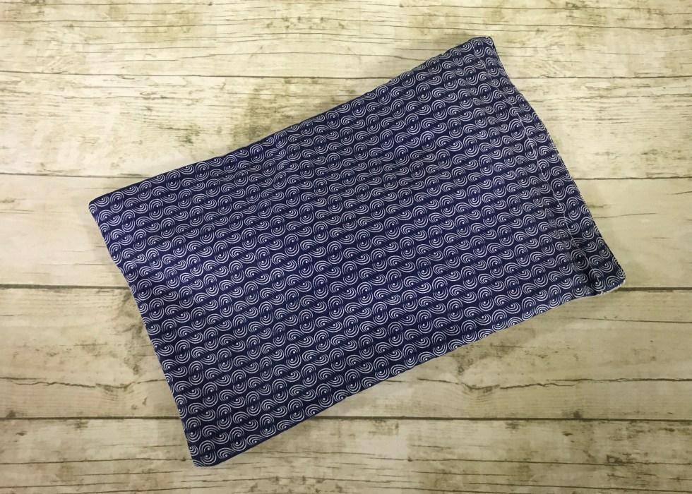 Ice Pack Cover - Navy Half Circles Stripe - 6x8