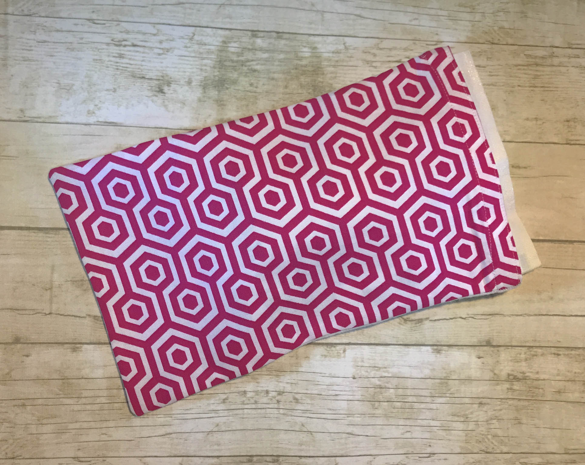 Ice Pack Cover - MagIce Pack Cover - Magenta Floral Grid - 6x8enta Floral Grid - 6x8