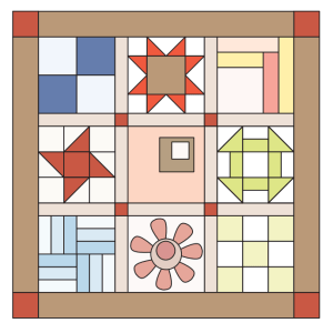 Sampler Quilt | Quilt Project for Stacey Sansom Designs Quilting Lesson