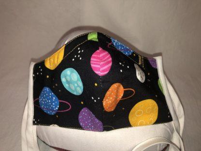 Medium Face Mask (Ver 2) - Planets   Stacey Sansom Designs