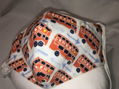 Large Face Mask (Ver 1) - London (Bus) | Stacey Sansom Designs