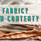 Article: Random Fabric? Unknown Content? | Stacey Sansom Designs