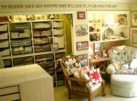 Inspiration for a craft room / workshop makeover.  Staci ...