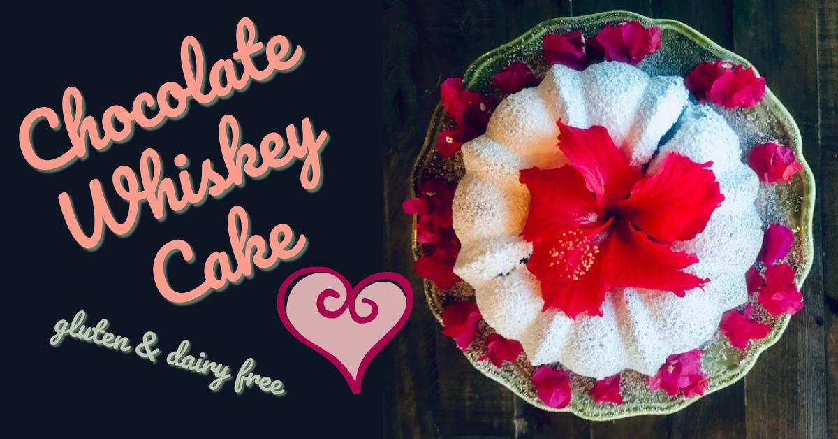 chocolate whiskey cake stacia island life recipe
