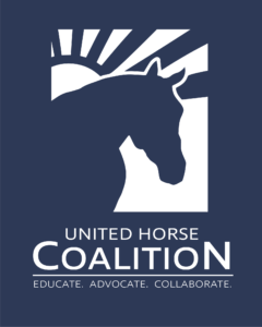 United Horse Coalition Blue Logo