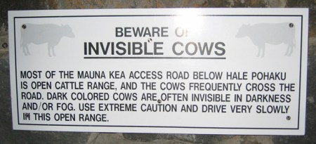 Mauna Kea Sign