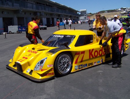 Kodak race car