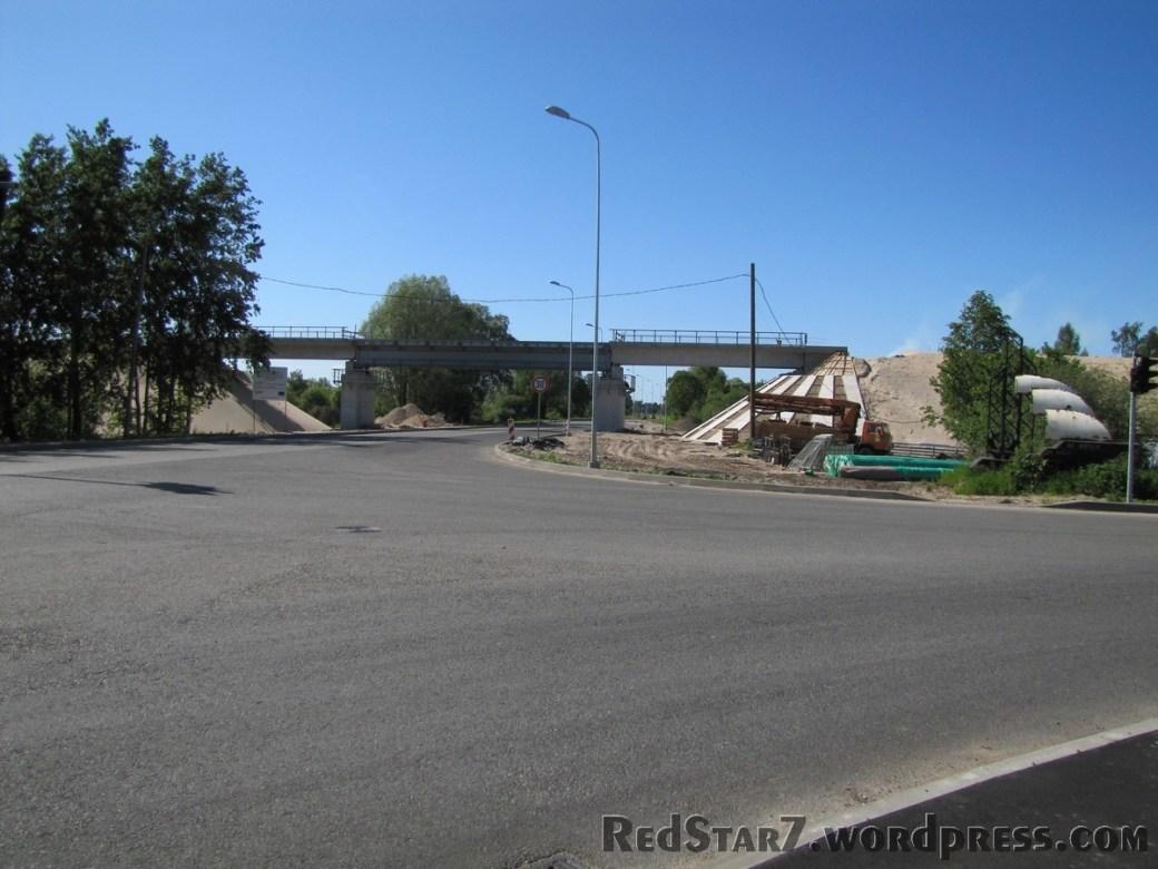 Dzelzceļa pārvads Daugavgrīvas ielā