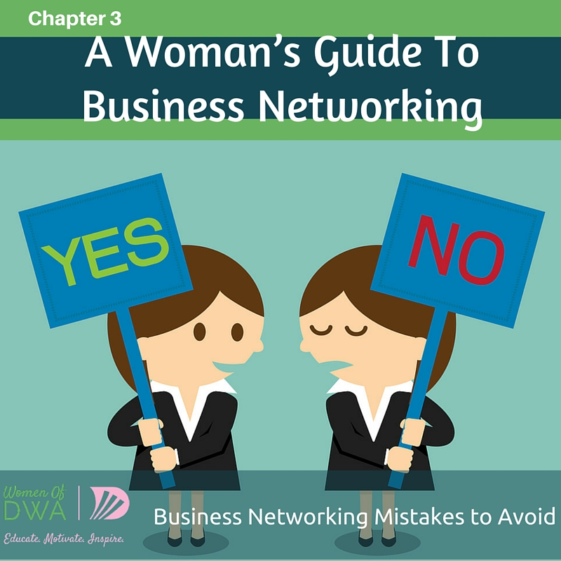 Business Networking Mistakes to Avoid