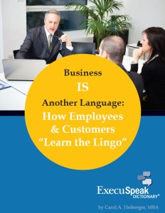 Business IS Another Language