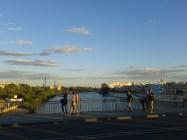 Zachód słońca nad Guadalquivirem potrafi być [ięny