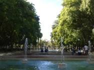 Fontanna w Prado de San Sebastian