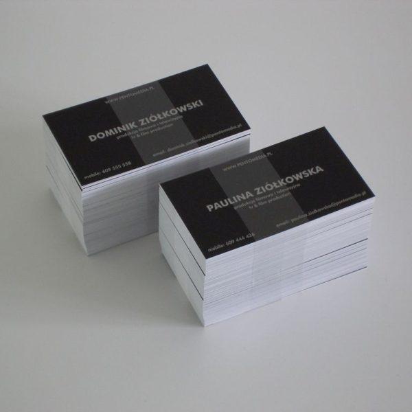 wizytówki z drukiem wypukłym legionowo