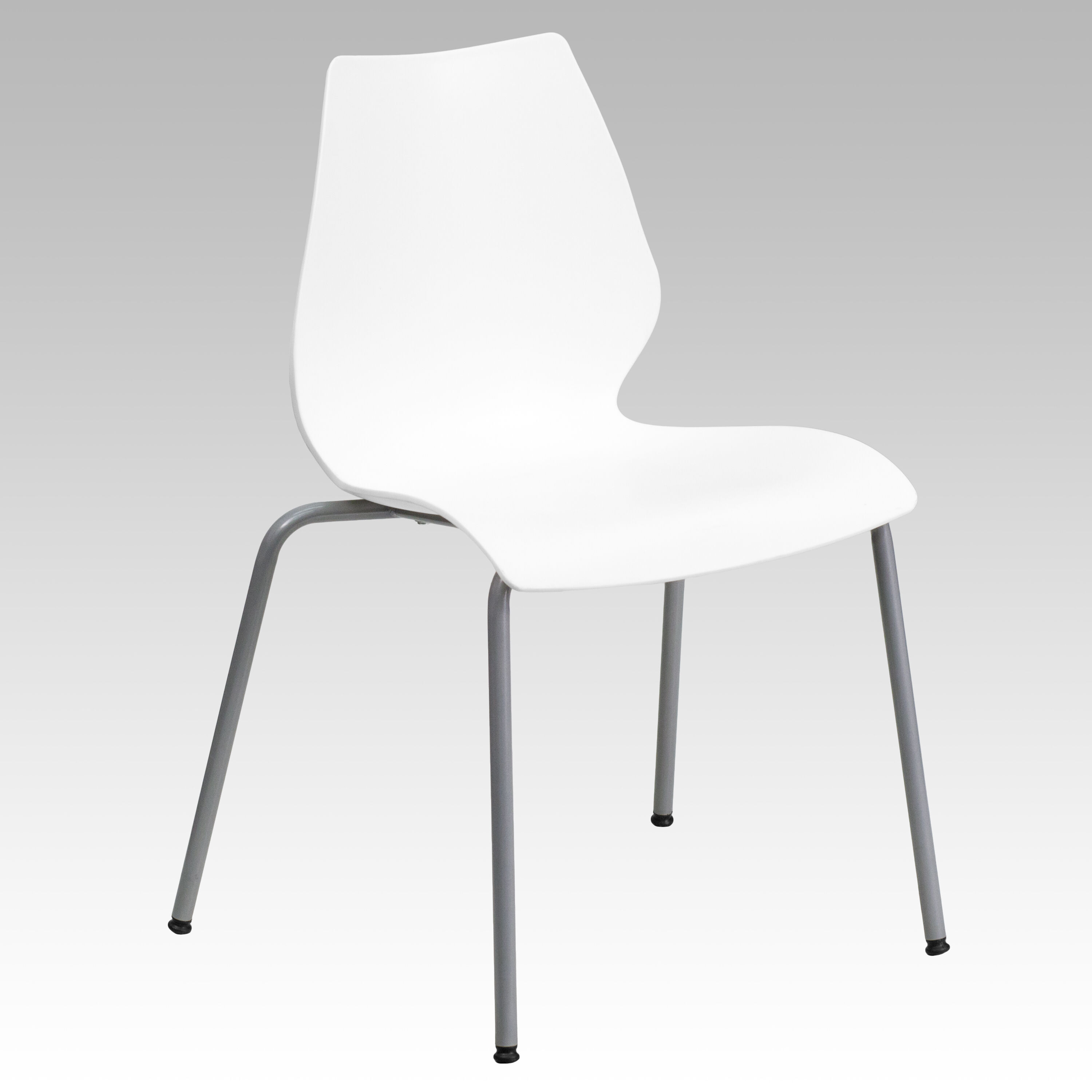 White Stackable Chairs White Plastic Stack Chair Rut 288 White Gg