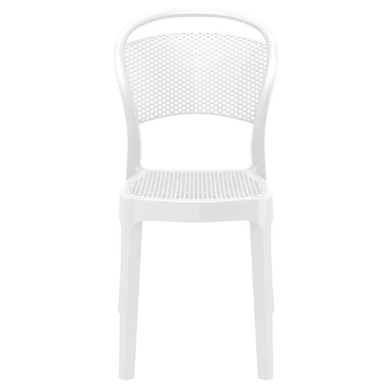 White Stackable Chairs White Stacking Dining Chair Isp021 Gwhi Stackchairs4less