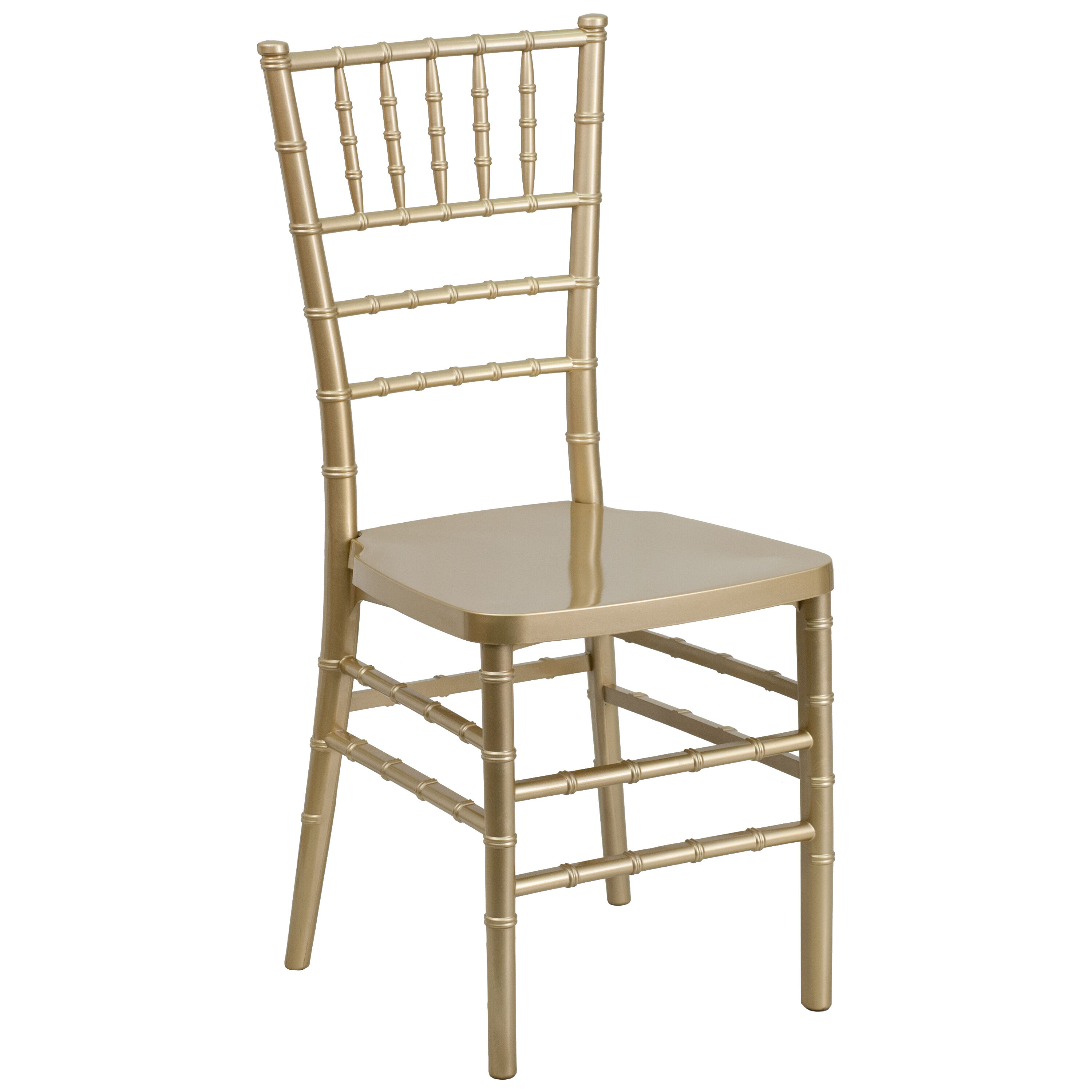 Resin Chairs Hercules Premium Series Gold Resin Stacking Chiavari Chair With Free Cushion