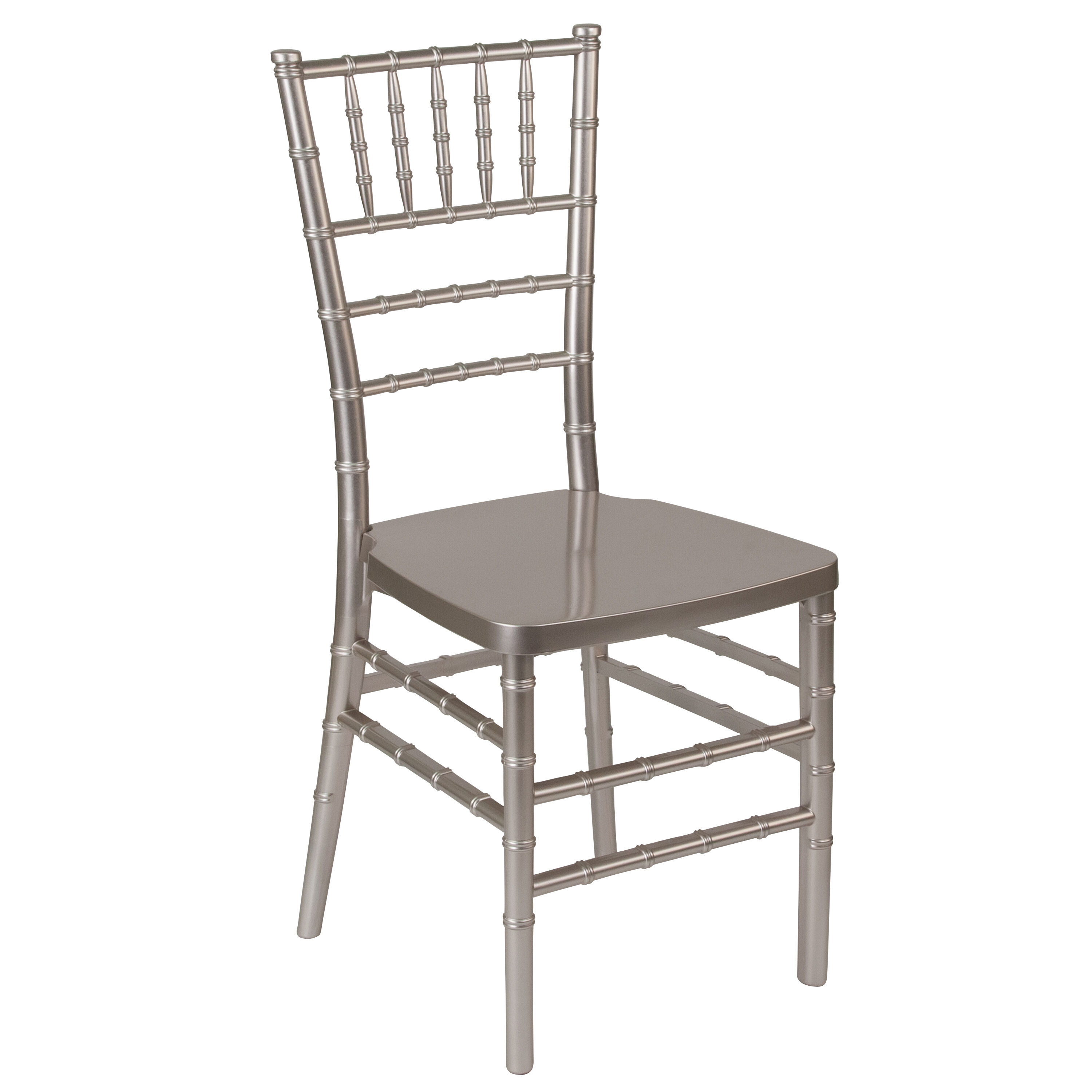 Resin Chairs Hercules Premium Series Pewter Resin Stacking Chiavari Chair With Free Cushion