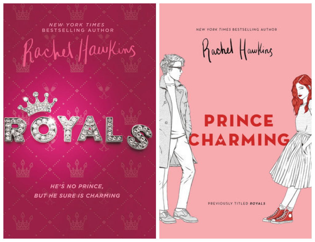 Image result for royals to prince charming cover change