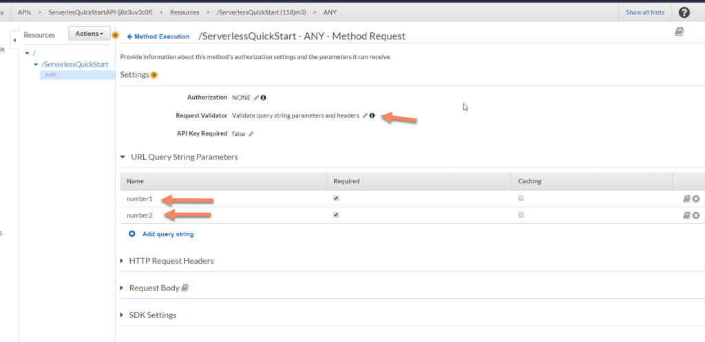 AWS Lambda number screenshot