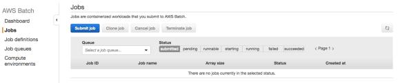 AWS Batch guide jobs
