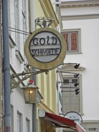 Lübeck shop sign