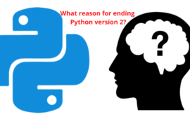 What reason for ending Python version 2