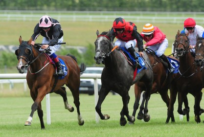 Queen Rabab winning at Limerick
