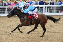 Wishing Star winning at Dundalk