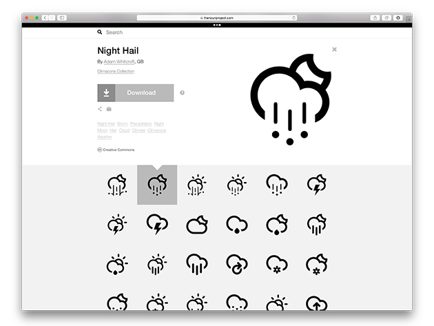 Noun Project Unlimited Icons: 2-Yr Subscription