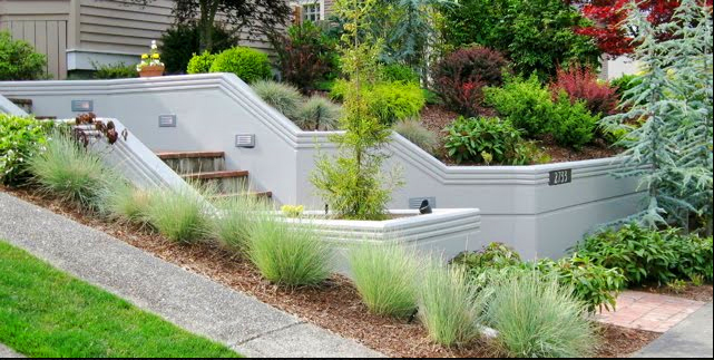 garden design slope
