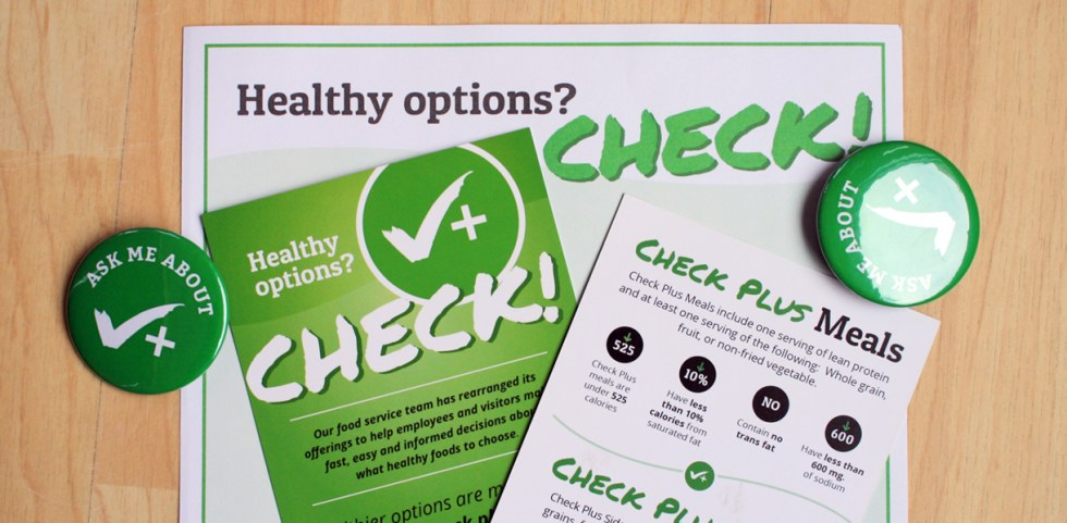 Healthy Hospitals Check Plus program